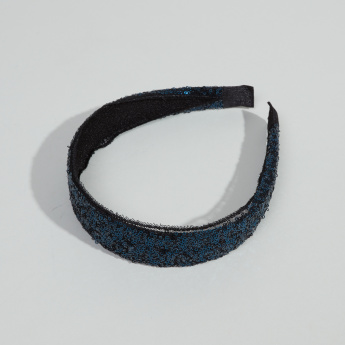 Charmz Sequin Detail Hair Band