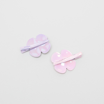 Charmz Floral Detail Hair Clip - Set of 2