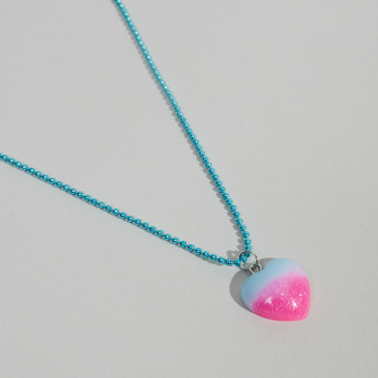 Charmz Heart Shaped Pendant Necklace