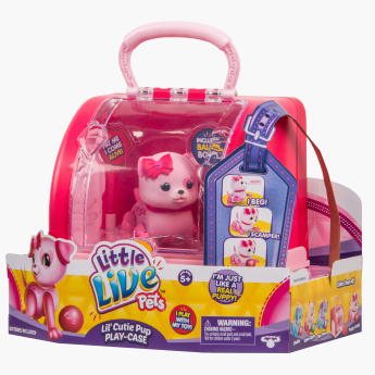 Little Live Pets Lil Cutie Pup Playset