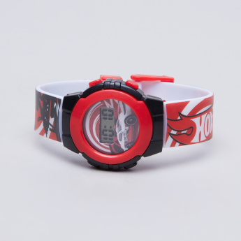 Hot Wheels Printed Digital Wristwatch