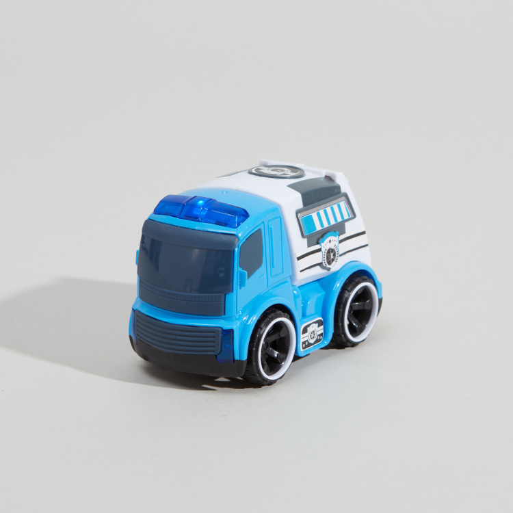 Friction Car Toy with Light and Music