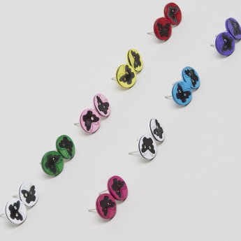 Charmz Printed Earrings - Set of 9