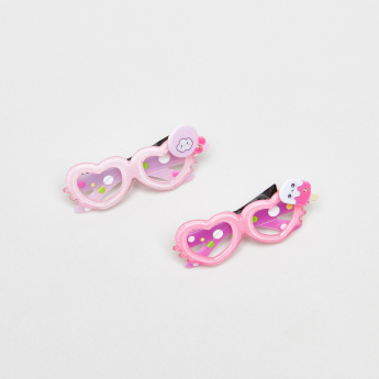 Charmz Sunglasses Design Hairpin - Set of 2