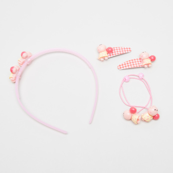 Charmz 5-Piece Embellished Hair Accessory Set