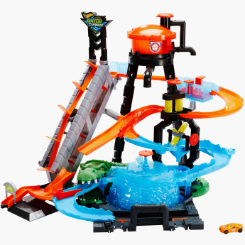 Hot Wheels Colour Shifters Ultimate Gator Car Wash Playset