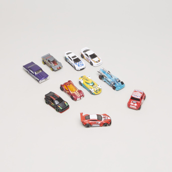 Hot Wheels 10-Piece Toy Cars Set