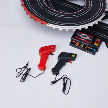 Slot Racing 1:43 Lamborghini Track Set with Light