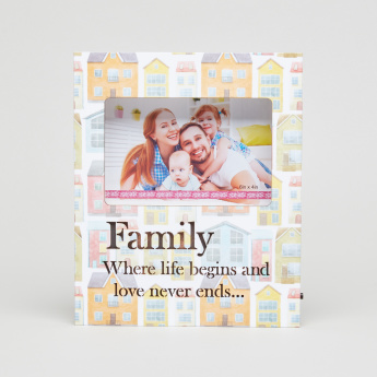 Charmz Family Printed LED Photo Frame - 6x4 inches