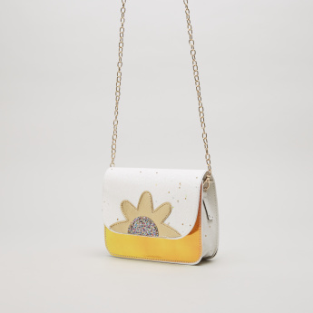 Charmz Sling Bag with Applique