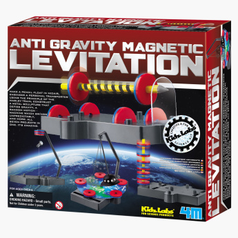 4M Kids Labs Anti Gravity Magnetic Levitation Playset