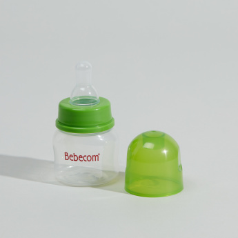Bebecom Feeding Bottle with Silicone Nipple - 60 ml