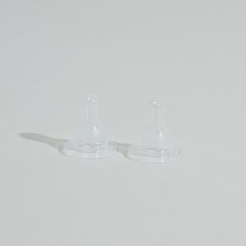 Bebecom Silicone Nipples - Set of 2
