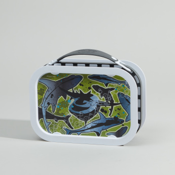 Yubo Sharks Printed Lunch Box