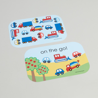Yubo Cars and Trucks Printed Face Plate - Set of 2