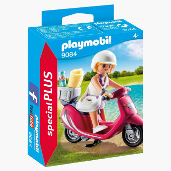 Playmobil Beachgoer with Scooter Playset