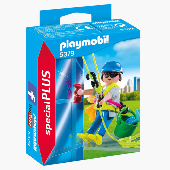 Playmobil Window Cleaner Playset