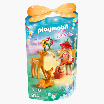 Playmobil Fairy Girl with Fawns Playset