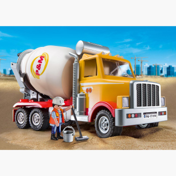 Playmobil Cement Truck Playset