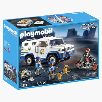 Playmobil Police Money Transporter Playset
