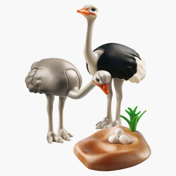 Playmobil Ostriches with Nest Playset