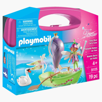 Playmobil Fairy Boat Carry Case Playset