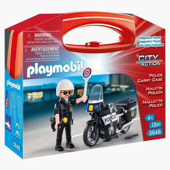 Playmobil Police Carry Case Playset