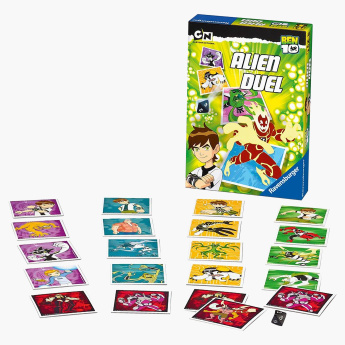 Ravensburger Ben 10: Alien Duel 72-Cards Game