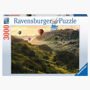 Ravensburger 3000-Piece Rice Terraces in Asia Jigsaw Puzzle