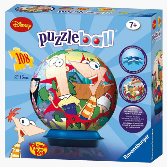 Phineas and Ferb 108-Piece Puzzleball