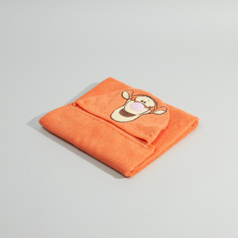 Tigger 3D Hooded Cotton Towel - 68x94 cms