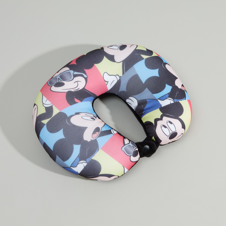 Mickey Mouse Printed Neck Pillow
