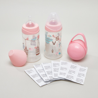 Suavinex 2-Piece Feeding Bottle Set - Bundle