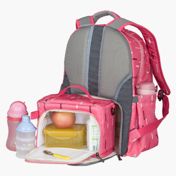 Sunveno Printed Diaper Backpack Bundle Offer