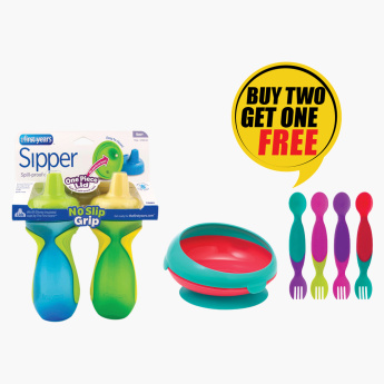 The First Year Sipper & Bowl with Free Flatware