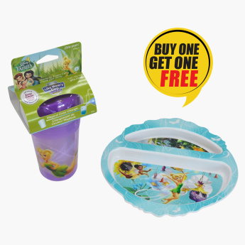 The First Year Fairies Color Changing Cup with Free Fairies Plate