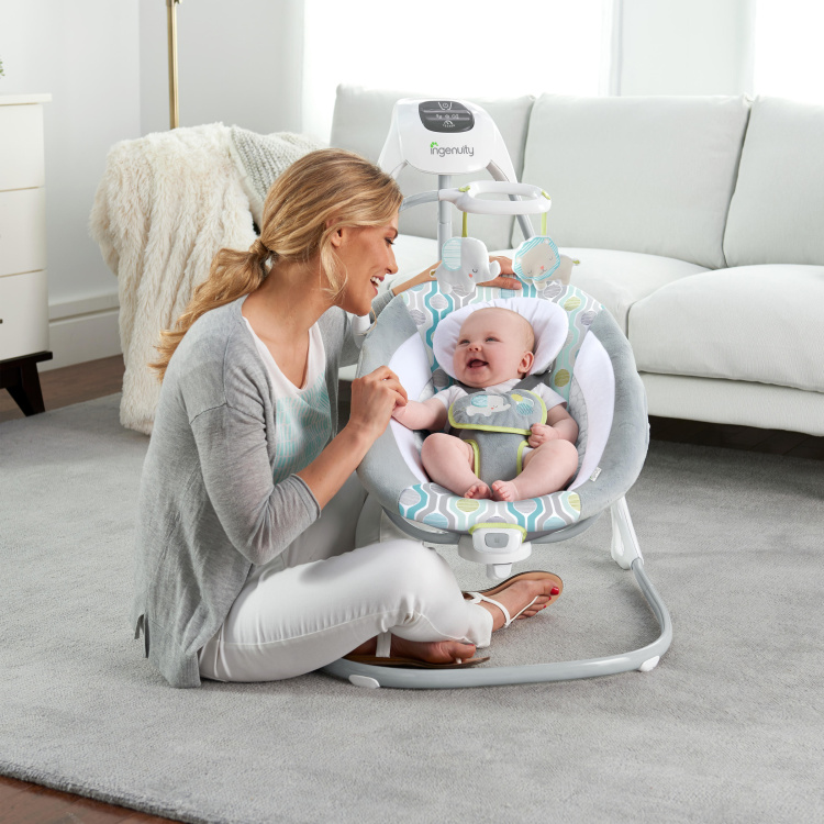Ingenuity Simple Comfort Everston Cradling Swing