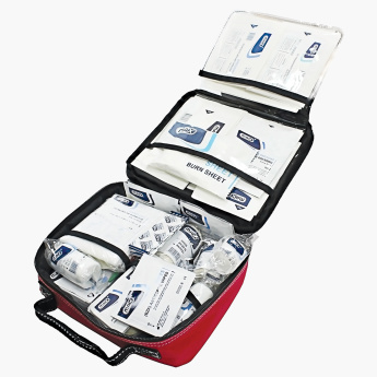 Max First Aid Bag FM064 with Contents