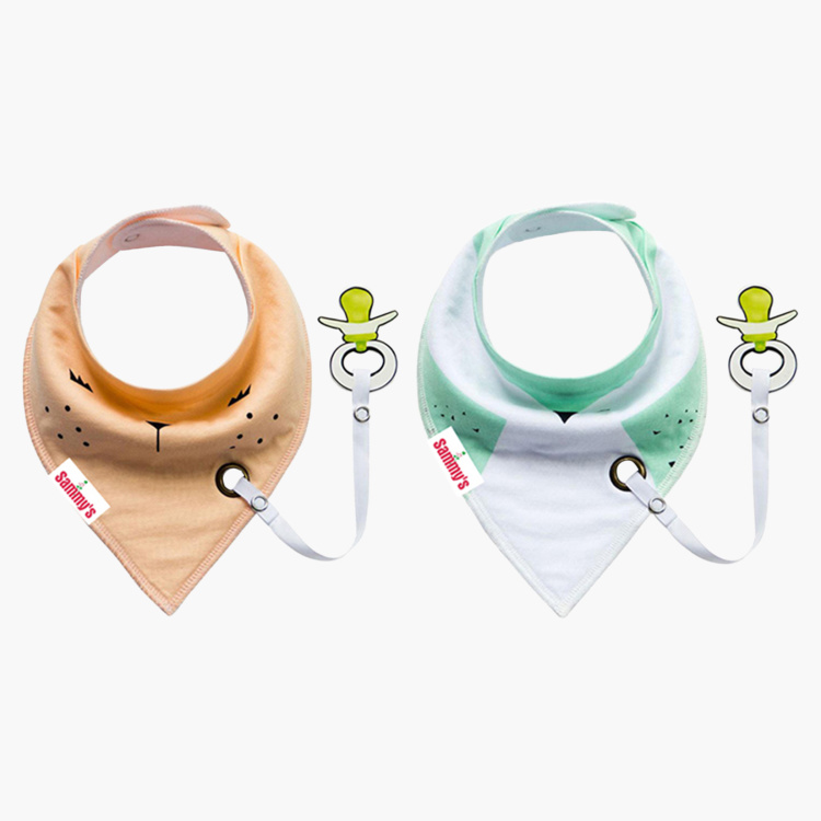Eazy Kids Bandana Bib - Set of 2