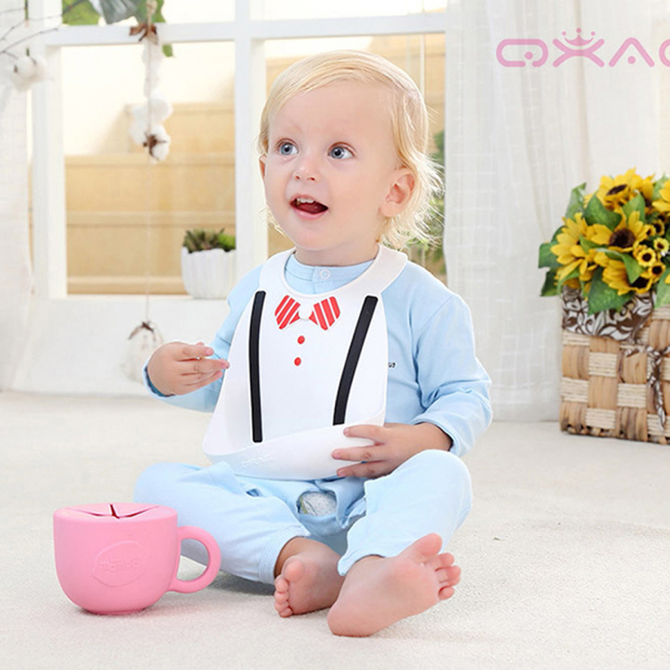 Eazy Kids 3D Bib with Snap Button Closure