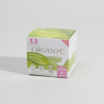 ORGANYC  Light Flow Flat Folded Panty Liner - Set of 24