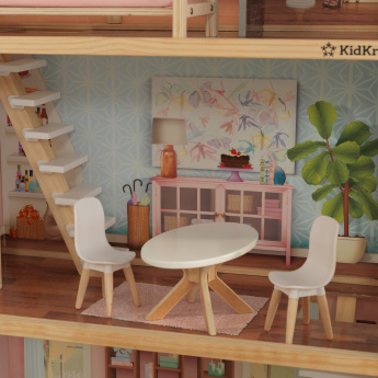 Terrific Kidkraft Zoey Dollhouse Frankydiablos Diy Chair Ideas Frankydiabloscom