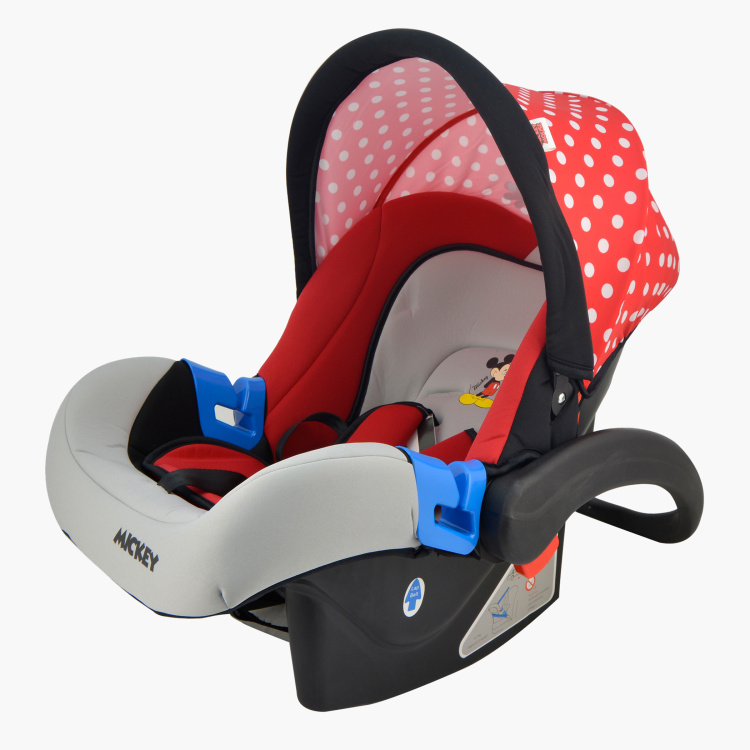 Mickey Mouse Printed Infant Car Seat