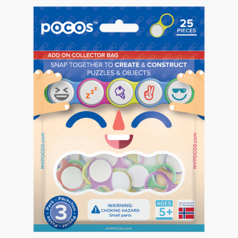 Pocos Combination Pack 25-Piece Add On Collector Bag Playset