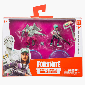 Fortnite Battle Royale 2-Pack Figures - Love Ranger and Teknique