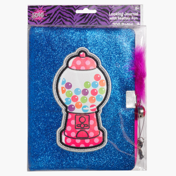 3C4G Gumball Journal with Feather Pen