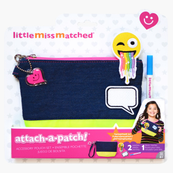Little Miss Matched Attach-A-Patch Pouch Set