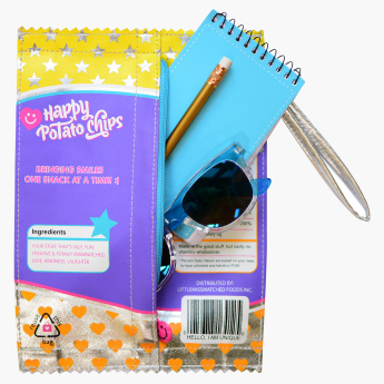 Little Miss Matched Chip Packet Shaped Pencil Case