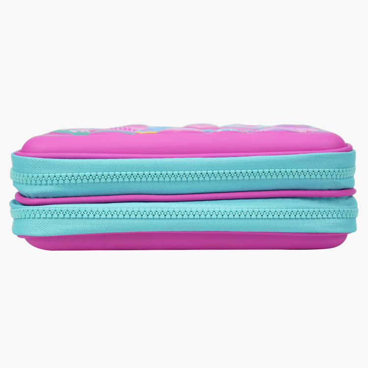 Smily Kiddos Printed Double Compartment Pencil Case