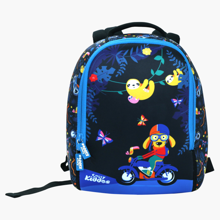 Smily Kiddos Printed Backpack